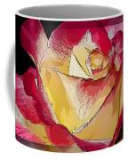 Rasberries And Cream Painterly Coffee Mug