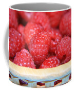 Raspberries In A Basket Coffee Mug