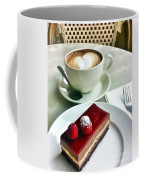 Raspberry Delice And Latte Coffee Mug