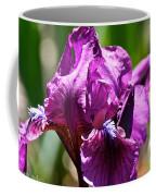Raspberry Jam Iris Coffee Mug