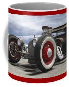 Rat Rod On Route 66 Panoramic Coffee Mug
