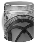 Rathaus Arch Bw Cologne Germany Coffee Mug