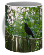 Raven In The Wild Coffee Mug