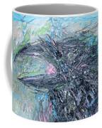 Raven - Oil Portrait Coffee Mug