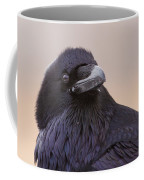 Raven Portrait Coffee Mug