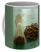 Raw And Cooked Pasta Coffee Mug