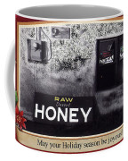 Raw Desert Honey Christmas Card Florence Arizona 2007 Coffee Mug