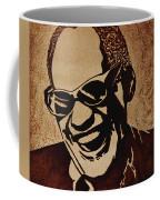 Ray Charles Original Coffee Painting Coffee Mug