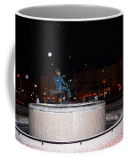 Ray Charles Statue In A Odd Weather Event Coffee Mug
