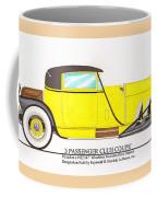 1922 Mercedes Benz By Raymond Dietrich Z Coffee Mug