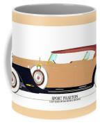 Raymond H Dietrich Packard Sport Phaeton Concept Coffee Mug