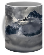 Rays Of Light On The Glaciers Coffee Mug
