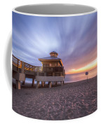 Reaching Into Sunrise Coffee Mug