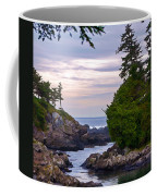 Reaching Out To The Ocean Coffee Mug