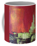 Reaching Up, Abstract  Coffee Mug
