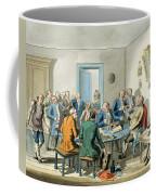 Reading A Will Coffee Mug