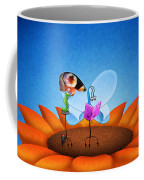 Reading Elle Coffee Mug by Gianfranco Weiss