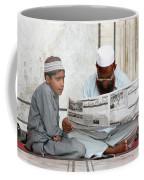 Reading In New Delhi Coffee Mug