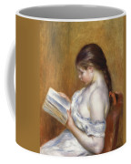 Reading Coffee Mug by Pierre Auguste Renoir