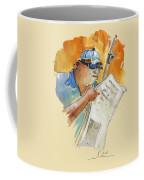Reading The News 04 Coffee Mug