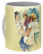 Reading The News 06 Coffee Mug