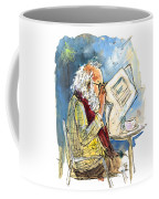 Reading The News 09 Coffee Mug