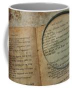 Reading The Raven Coffee Mug