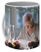 Reading The Sunday News Paper Coffee Mug