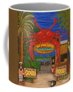 Ready For The Day At The Crab Shack Coffee Mug