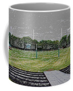 Ready For The Football Season Panorama Digital Art Coffee Mug