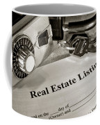 Real Estate Listing And Lock Box Coffee Mug