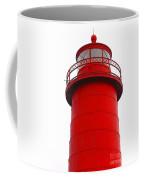 Really Red Lighthouse Coffee Mug