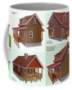 Realm Gallery Cabin Designs Coffee Mug