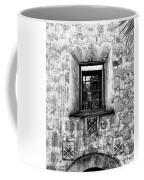 Rear Window Bw Santa Barbara Coffee Mug