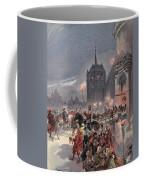 Reception Of Charles V In Amboise Coffee Mug