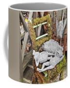 Reclining Amphibians And A Bird Coffee Mug