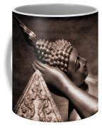 Reclining Buddha Coffee Mug by Adrian Evans