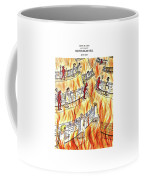 Recycling In Hell Unbent Paper Clips Coffee Mug