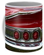 Red 1960 Chevy Tail Light Coffee Mug