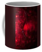 Red Abstract Coffee Mug