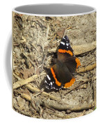 Red Admiral Coffee Mug