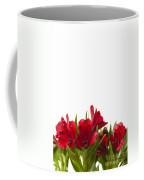 Red Alstroemeria Coffee Mug by Anne Gilbert