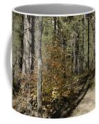 Red Among The Pines Coffee Mug
