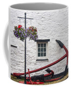 Red Anchors Coffee Mug