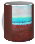 Red And Aqua Get Married Coffee Mug