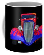 Red And Blue Custom Coffee Mug