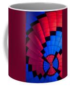 Red And Blue Pattern Coffee Mug