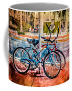 Red And Blue Rides Coffee Mug