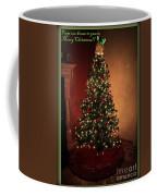Red And Gold Christmas Tree With Caption Coffee Mug