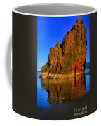 Red And Gold In The Sea Coffee Mug